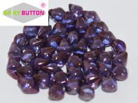 Spiky Button - Crystal Lila Vega Luster