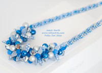 Sample - Polka Dot Skies Necklace