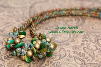 Sample - Spanish Olive Necklace