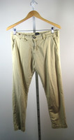 NOTIFY Khaki Straight Leg Cotton Pant Size 29
