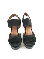 DONALD J. PLINER Black Ombre Wedge Sandal Heel Pump Size 6.5 $238