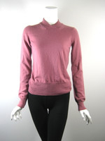 MARC JACOBS  Rose Pink Pullover V Neck Cashmere Sweater Size X Small