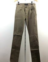 J BRAND Brown Tan Skinny Straight Leg Denim Jean Size 28