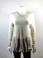 T ALEXANDER WANG Ivory Tunic Sweater Size Large