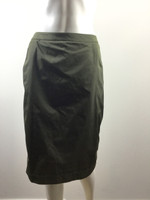 LIDA BADAY NWT Green Straight Knee Length Skirt Size 8 $595