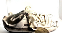 PUMA White Leather Lace Up Tennis Shoe Sneaker SIZE 6.5