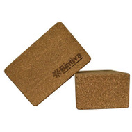 Bintiva Eco-friendly Cork Yoga Blocks - Single Block