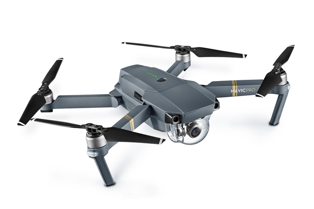 Mavic Pro - Aircraft (Excludes Remote Controller and Battery Charger)