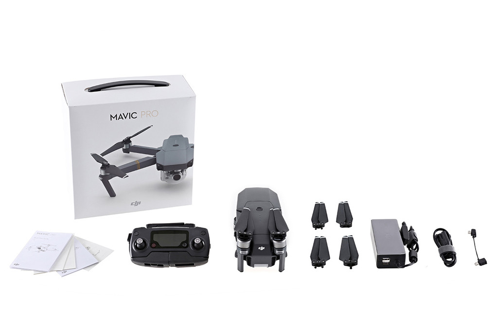 Mavic Pro & Extra Battery & PGY Landing Gear Extensions