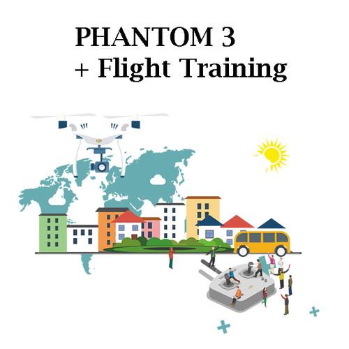 Phantom 3 Advanced + Flight Training