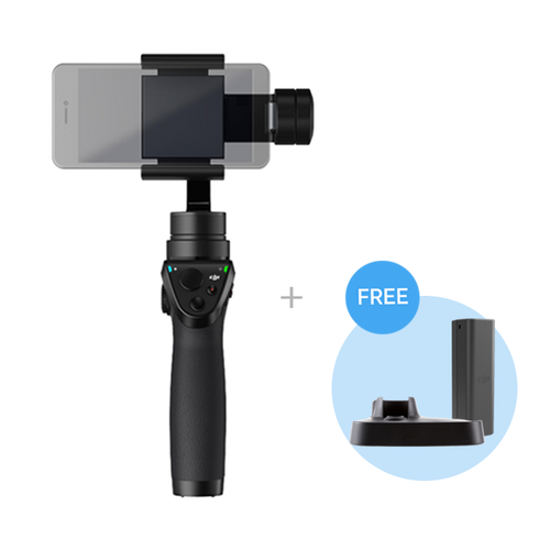 Osmo Mobile (Free One Extra Battery+Base)