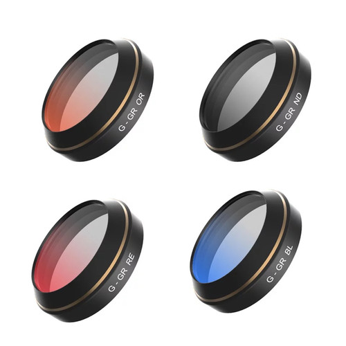 Filter Lens for DJI Mavic (G-Orange / G-Red / G-Grey / G-Blue -4pcs)
