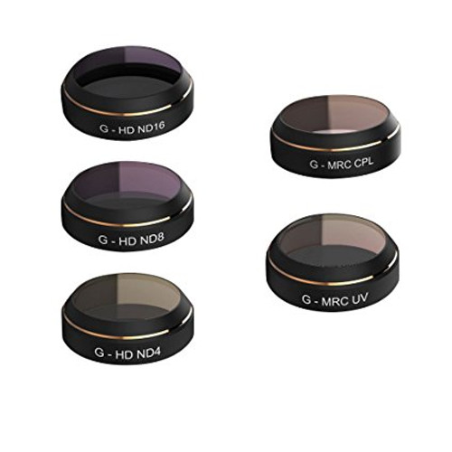 Filters Set for Mavic Pro (UV/ND4/ND8/ND16/CPL)