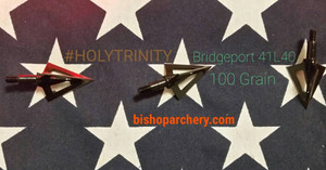 BRIDGEPORT #HOLYTRINITY 100 GRAIN THREE PACK
