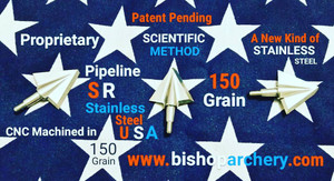 150 GRAIN PROPRIETARY PIPELINE SR STAINLESS STEEL SCIENTIFIC METHOD