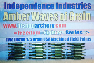 TWO DOZEN 175 GRAIN FIELD POINTS