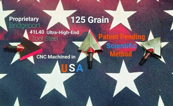 125 GRAIN BRIDGEPORT 41L40 SCIENTIFIC METHOD