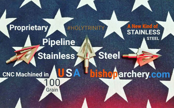 100 GRAIN VENTED PROPRIETARY PIPELINE SR STAINLESS STEEL #HOLYTRINITY