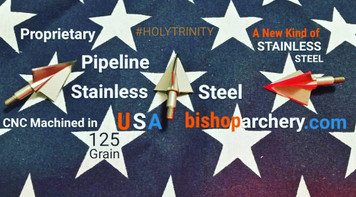 125 GRAIN NON-VENTED PROPRIETARY PIPELINE SR STAINLESS STEEL #HOLYTRINITY