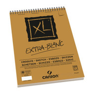Canson XL Spiral Sketch Pads - Extra White