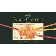Faber Castell Polychromos Pencil Set - Tin of 36