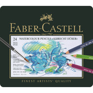 Faber Castell Albrecht Durer Watercolour Pencil Set - Tin of 24