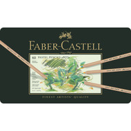 Faber Castell Pitt Pastel Pencil Set - Tin of 60