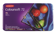 Derwent Coloursoft Pencil Set - Tin of 72