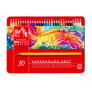 CARAN d'ACHE SUPRACOLOR® Soft Aquarelle Set - Tin of 30