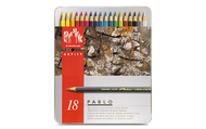 CARAN d'ACHE PABLO® Colouring Pencil Set - Tin of 18