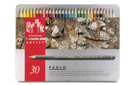 CARAN d'ACHE PABLO® Colouring Pencil Set - Tin of 30
