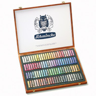 Schmincke Soft Pastel Set - Wooden Box of 100