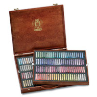 Schmincke Soft Pastel Set - Wooden Box of 200