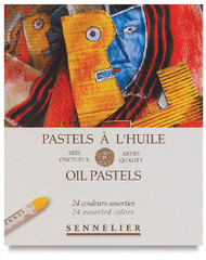 Sennelier Oil Pastel Sets Assorted 24pc