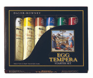 Daler Rowney Egg Tempera Start Set - 6 x 22ml Tubes