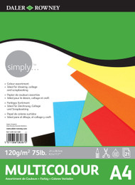 Daler Rowney Simply Multicolour Pad - A4