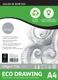 Daler Rowney Simply Eco Drawing Pad - A4