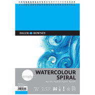 Daler Rowney Simply Watercolour Spiral Pad - A4