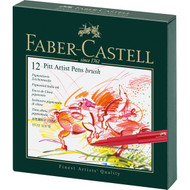 Faber Castell Pitt Artist Brush Pens Gift Box Sets