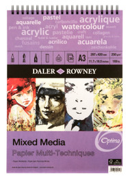 Daler Rowney A3 Mixed Media Optima-2 FOR 1 SPECIAL