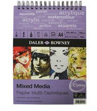 Daler Rowney A4 Mixed Media Optima-2 FOR 1 SPECIAL