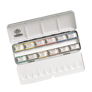 SCHMINCKE - HORADAM FINEST WATERCOLOUR PAINTS - 12 FULL PAN SET