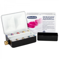 SCHMINCKE - HORADAM FINEST WATERCOLOUR PAINTS - 8 HALF PAN - COMPACT FIELD BOX