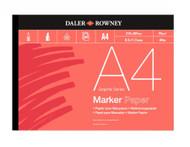 DALER ROWNEY MARKER PAD - A4 (70gsm)