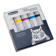 Schmincke Aqua Linoldruck Linoprint Colours Set (5x20 ml)