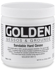 GOLDEN Sandable Hard Gesso
