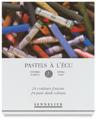 Sennelier Soft Pastel Set 24 Dark Tone colours