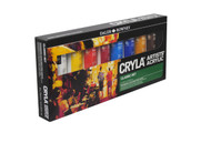 Daler Rowney Cryla Artists' Acrylic Classic Set(8x75ml)