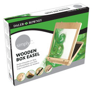 Daler Rowney Simply Wooden Box Easel
