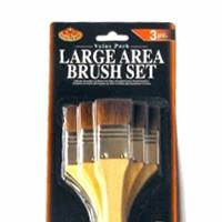Royal Langnickel Large Area Brush Set - Brown Camel Hair